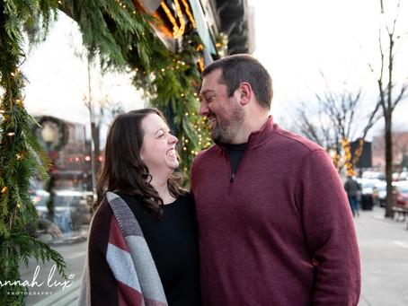 Micaela & Mark's Saratoga Springs Engagement Session