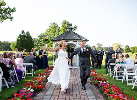 Megan & Adam's Wedding at Hiland Park Country Club in Queensbury, NY
