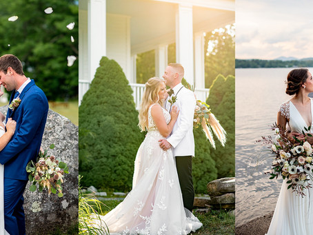 Romantic Adirondack Styled Wedding Shoot with REAL Couples