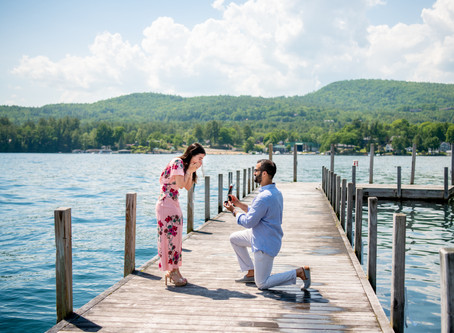Surprise Proposal at The Sagamore Resort, Lake George, NY