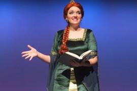 Alexandria Bagwell as Fiona in Shrek the Musical