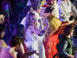 Alexandria Bagwell Dancing on the Pericles Splash Pad