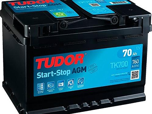 Tudor TK700 70AH 760A AGM