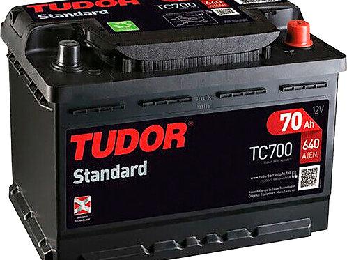 Tudor TC700 70AH 640A Estándar