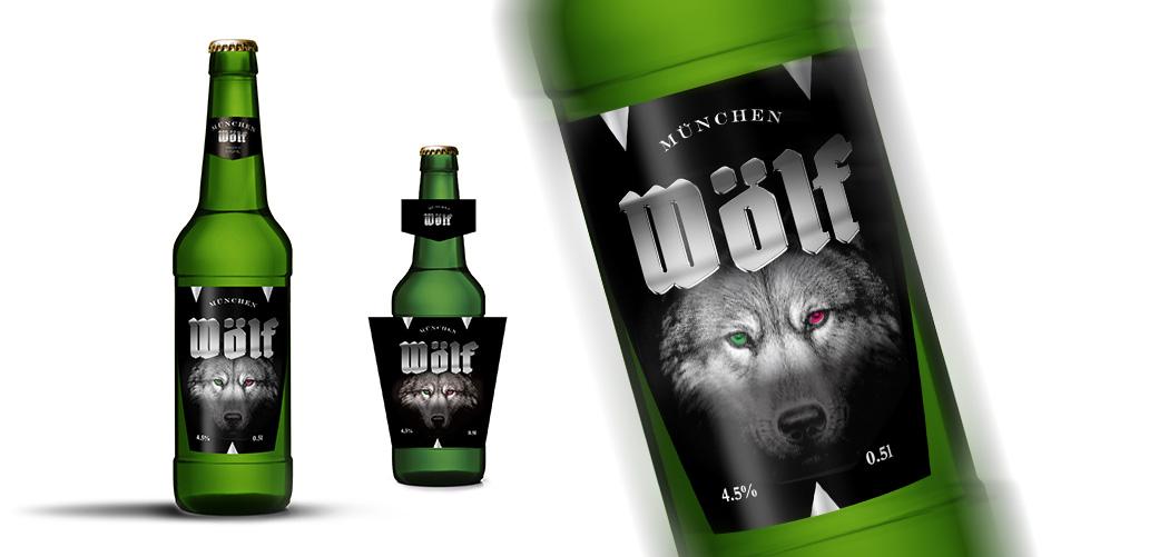 Пиво WOLF