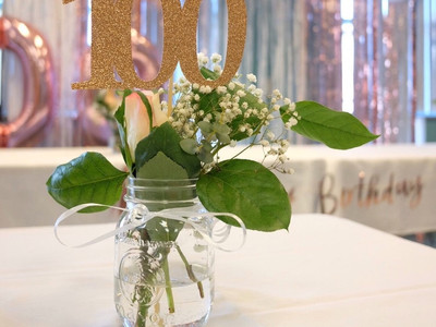 Head Table for 100th Birthday