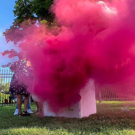 Gender Reveal Smoke Bomb