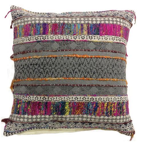 Multi color pillow