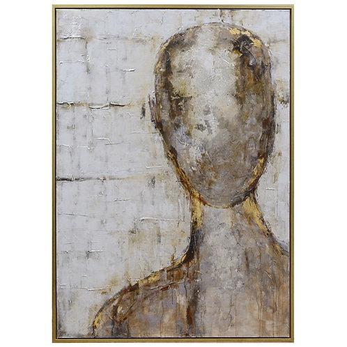 SILHOUETTE II FRAMED CANVAS ART