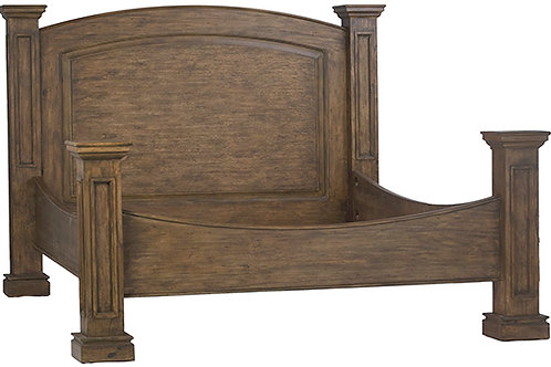 PINE KING BED
