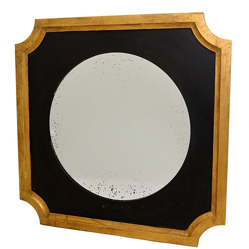Black n gold mirror
