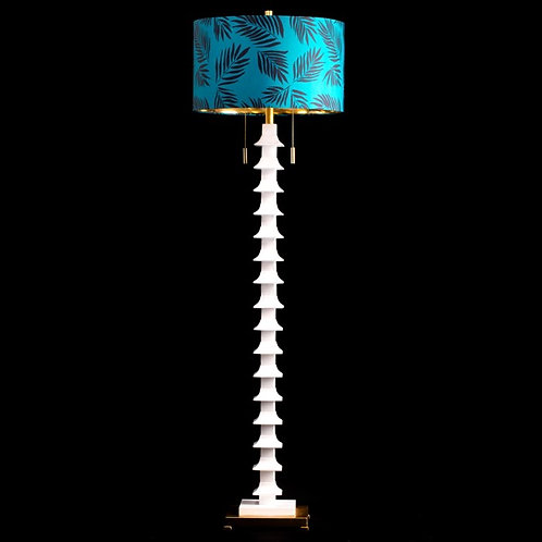 STACKED PAGODA FLOOR LAMP