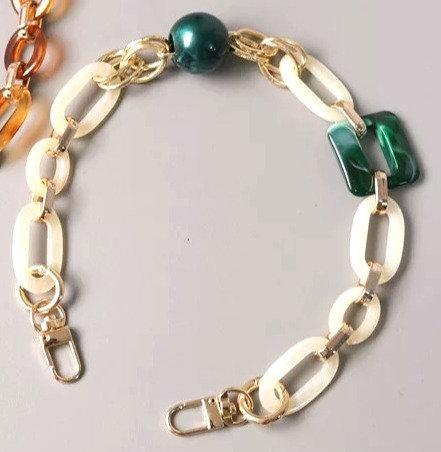 Purse Strap Jewelry Green