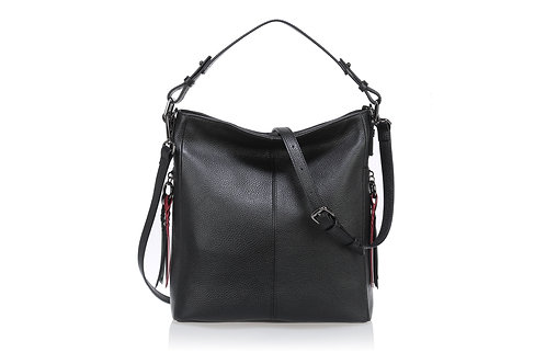 """Pebble Leather Hobo Bag """"The Brittany"""""""