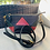 "Thumbnail: Crossbody Bag  ""Triangle -Red, Black & Green"""