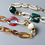 Thumbnail: Purse Strap Jewelry Green