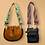 Thumbnail: Purse Strap in Pink & Green