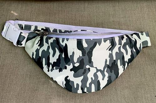 Camo Belt Bag White