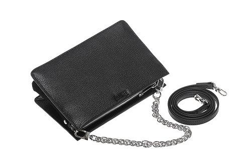 "Crossbody Handbag with chain handle ""The Alia"""