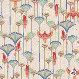 Desert Birds by Amelia Eaton