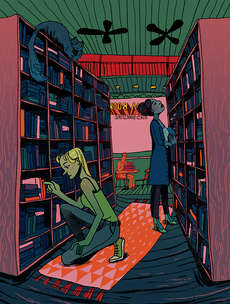Bookshop by Amelia Eaton