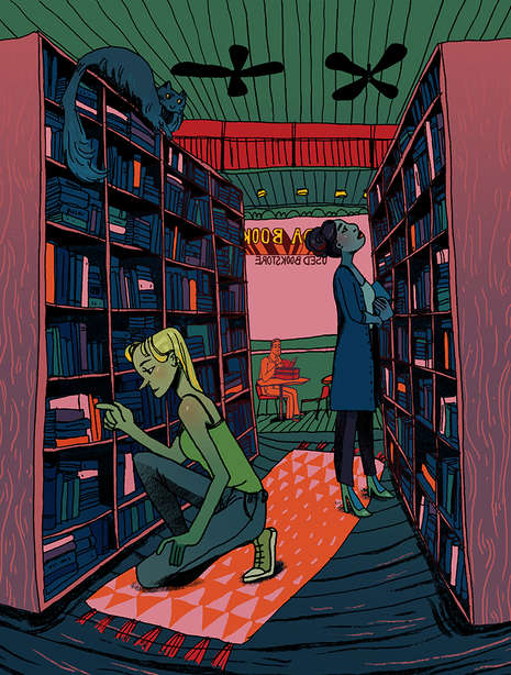 Bookshop by Amelia Eaton