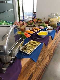 Full service buffet catering