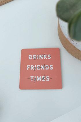 Korkuntersetzer - good drinks