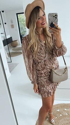 Kleid - gerafft