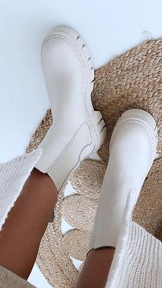 Boots-beige