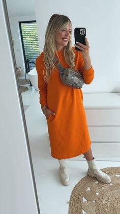 Pullikleid - orange