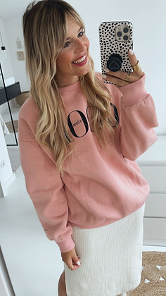Pullover - GOOD VIBES rosa