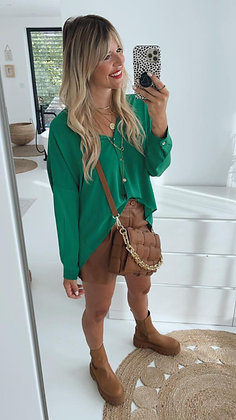 Bluse - grasgrün