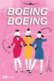 Boeing Boeing - Postcard (front)