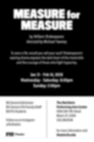 Measure for Measure - Postcard (back)