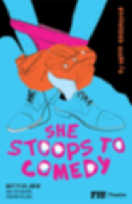 She Stoops to Comedy - Poster
