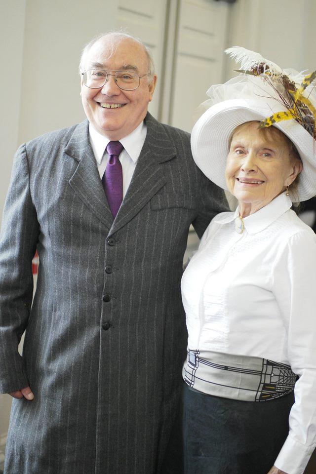 Tim Duggan and Judith Wright