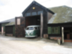 The VW Bullibarn Barn and Office