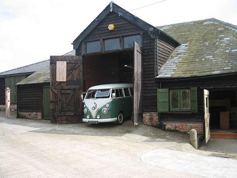 The VW Bullibarn Barn and Office