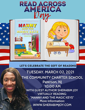 Copy of Read Across America Day Flyer (1