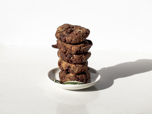 Black Bean Chocolate Cookies
