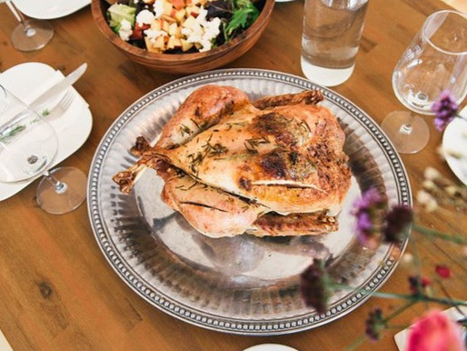 Rosemary Chicken with Cranberries