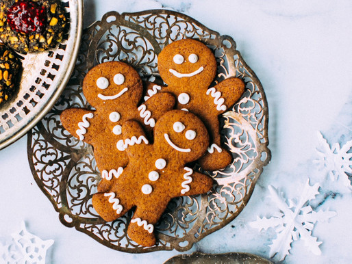 Chewy Gingerbread Cookies Grain-free