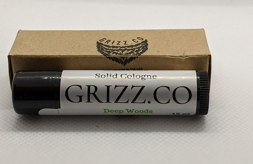Deep Woods On The Go Solid Cologne