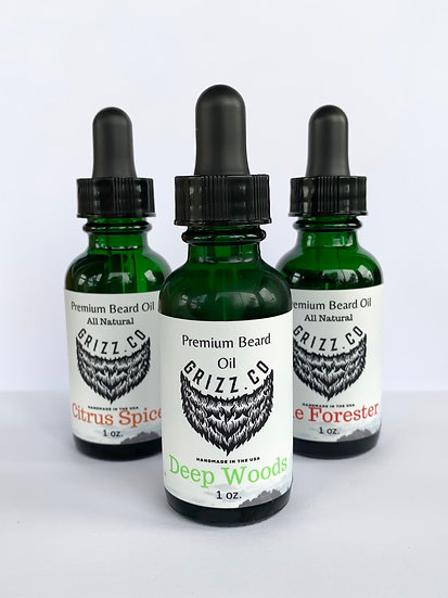 3 Pack Beard Oil
