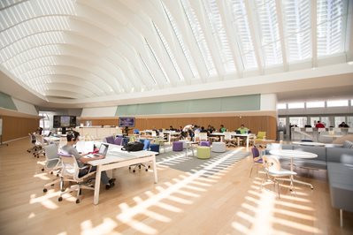 ¿Una biblioteca sin libros?