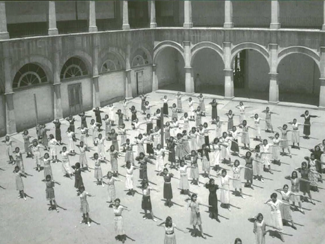Colegio de las Vizcaínas: flashback