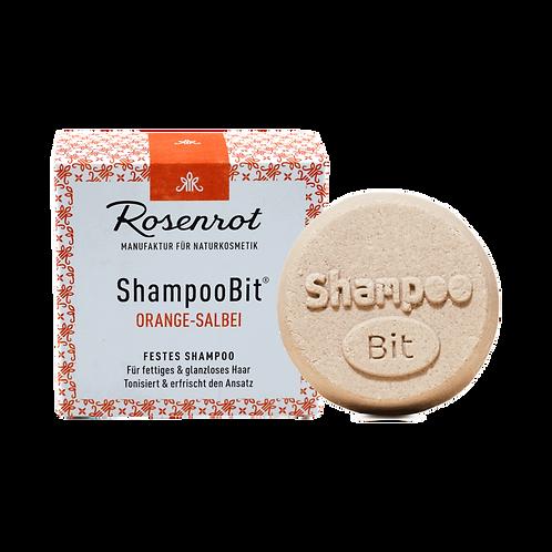 Shampoobit® Orange-Salbei festes Shampoo Rosenrot
