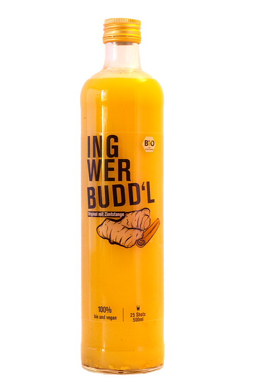 Ingwer Budd'l Original mit Zimtstange 500ml