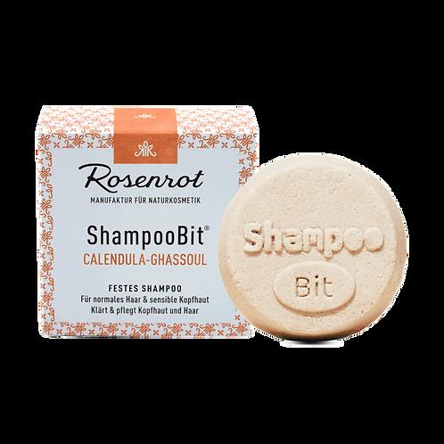 Shampoobit® Calendula-Ghassoul festes Shampoo Rosenrot